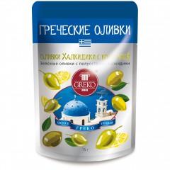 """Оливки """"Халкидики с косточкой """"(Snack)"""