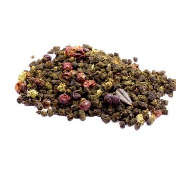 Иван-чай ферментированный с ягодами брусники, 100 гр