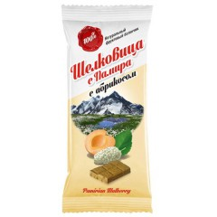 "Батончик ""Шелковица с Памира"", с абрикосом, 20 гр."