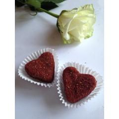 Эко-конфеты, клубничное сердце