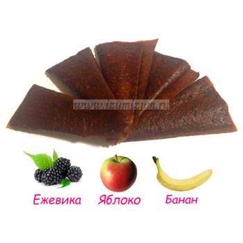 """Пастила """"Особая"""" live, ЕЖЕВИКА (яблоко, банан)"""