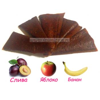 """Пастила """"Особая"""" (live), слива, яблоко, банан"""