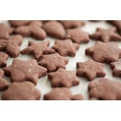 Печенье шоколадное с гвоздикой и корицей