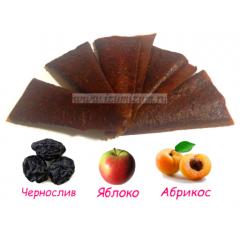 """Пастила """"Особая"""" live, ЧЕРНОСЛИВ (яблоко, абрикос)"""